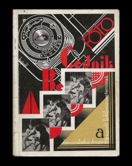 YUGOSLAV BOOK DESIGN / TYPOGRAPHY: Foto A Be Cednik  [Photo ABC Book]