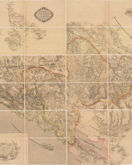 Montenegro – Important Ottoman Cartography