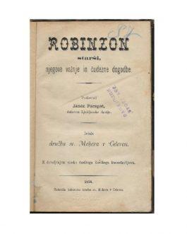 ROBINSONADE – SLAVICA: Robinzon starši, njegove vožnje in čudezne dogodbe