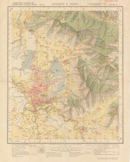 [Srinagar] Kashmīr & Jammu. / 1:63.360. / Kashmir Nor...