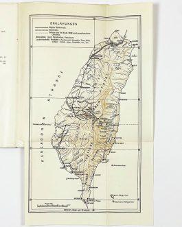 TAIWAN / BUENOS AIRES IMPRINT: Eine Reise in das Innere der insel Formosa und die erste Besteigung des Niitakayama (Mount Morrison), Weihnachten 1898.
