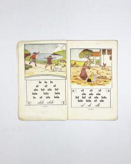 ABC BOOK / TURKISH CHILDREN ON RHODES: Ilk Adim. Resimli Alfabe  [First Level. Illustrated Primer]