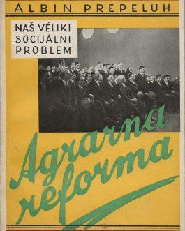 YUGOSLAV BOOK DESIGN / MARXISM IN YUGOSLAVIA: Naš véliki socijalni problem. Agrarna Reforma
