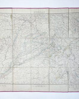 Punjab. / Scale 1/1,000,000.