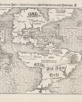 Die neuwen Inseln, so hinder Hispanien gegen Orient bey dem land India ligen [The New Islands, which are Lying behind Spain, East Direction by the Land of India]